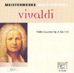 Enrico Casazza - Vivaldi: Violin Concertos Op. 8 Nos 7-12 mp3 download