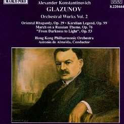Antonio de Almeida - Glazunov: Orchestra Works, Vol.2 mp3 download