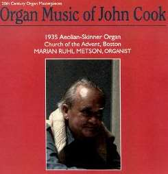 Marian Ruhl Metson - Organ Music of John Cook mp3 download