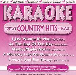 Karaoke - Today's Country Hits (Female) mp3 download