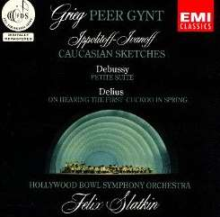 Felix Slatkin / Hollywood Bowl Symphony Orchestra - Grieg: Peer Gynt; Ippolitoff-Ivanoff: Caucasian Sketches mp3 download