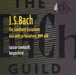 Gustav Leonhardt - J.S. Bach: The Goldberg Variations [Vanguard] mp3 download