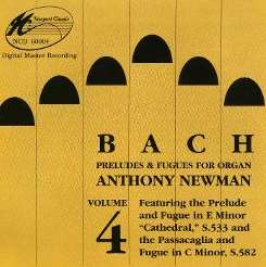 Anthony Newman - Bach: Preludes & Fugues, Vol. 4 mp3 download