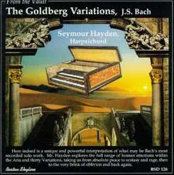 Seymour Hayden - Bach: The Goldberg Variations mp3 download