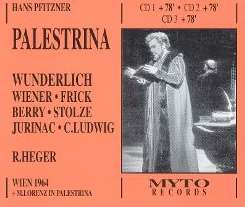 Fritz Wunderlich / Robert Heger - Palestrina mp3 download