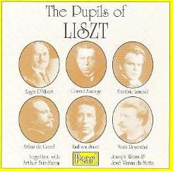 Various Artists - The Pupils of Liszt mp3 download