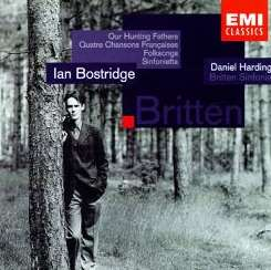 Ian Bostridge - Benjamin Britten: Our Hunting Fathers; Quatre Chansona Française; Folksongs; Sinfonietta mp3 download