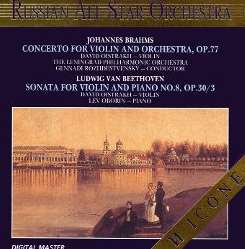 David Oistrakh - Brahms: Concerto for Violin and Orchestra, Op. 77; Beethoven: Sonata for Violin and Piano No. 8 mp3 download